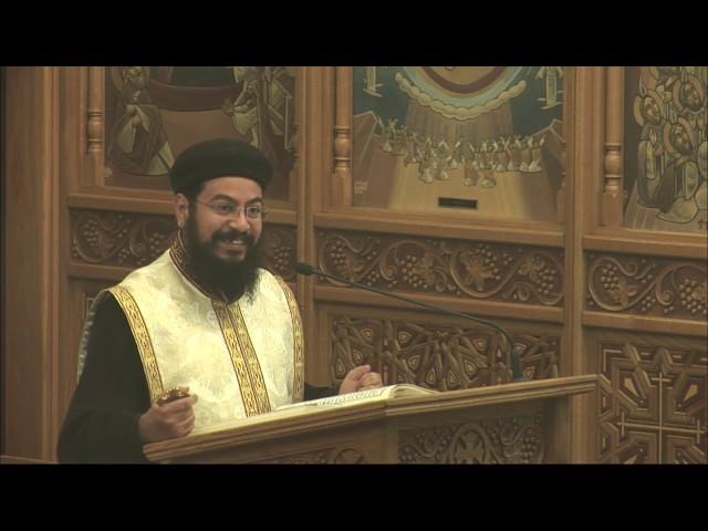 Blessed Fr. Bishoy Kamel Giving (Arabic Sermon)  Fr. Rewes Antoun