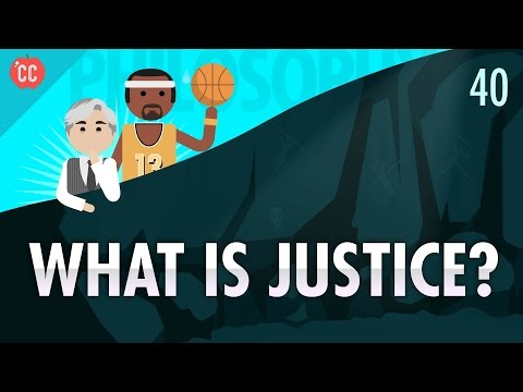 Thumbnail: What Is Justice?: Crash Course Philosophy #40