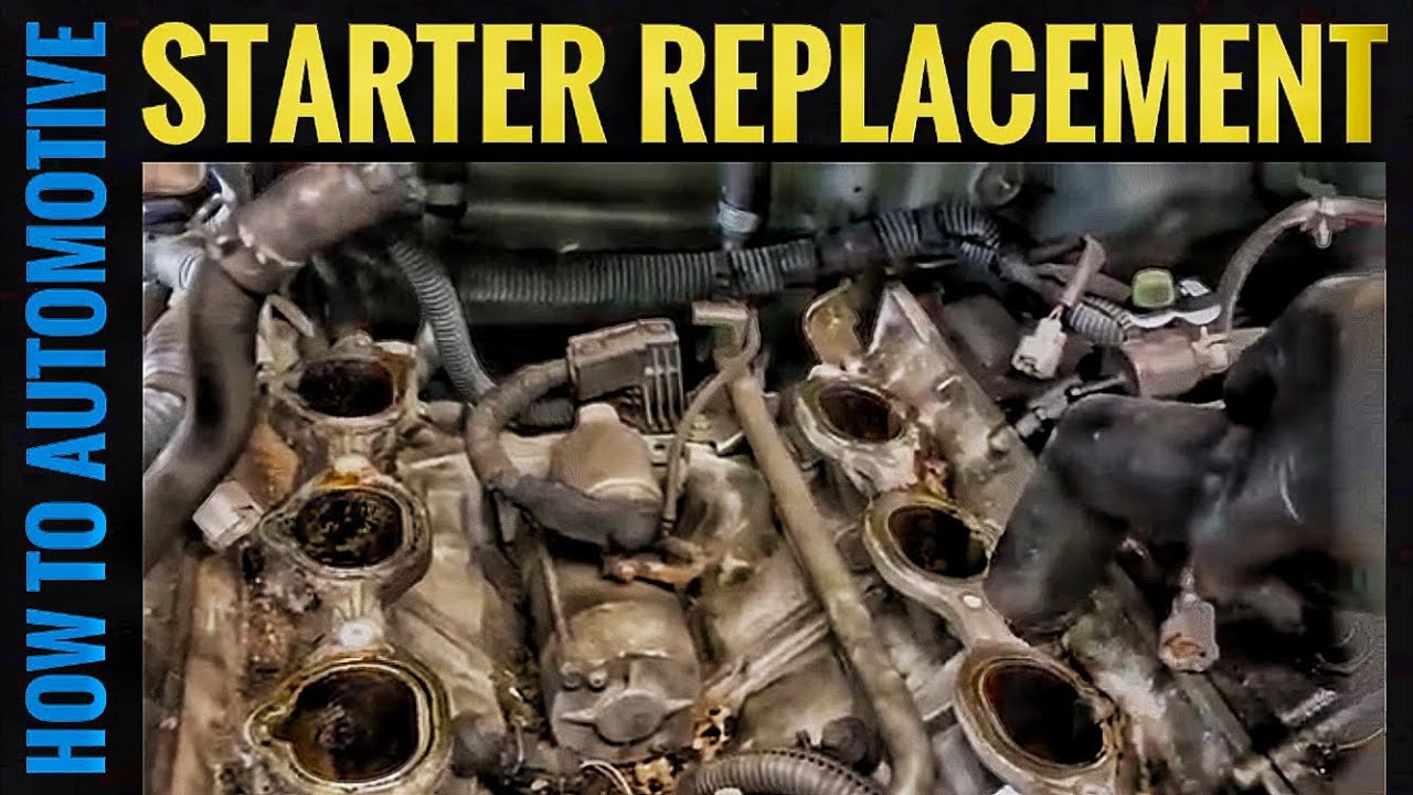 How To Replace The Starter On A 2003-2015 Nissan Titan
