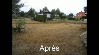 Camping Domaine le Vernis Avant/Après 2