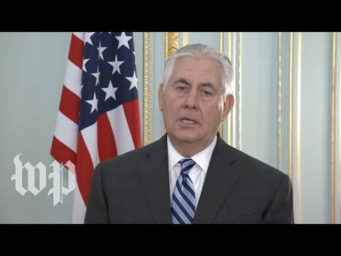 Download Youtube: Tillerson: U.S. asks Turkey, Syria to 'show restraint'