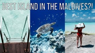 BEST ISLAND IN THE MALDIVES?!?!