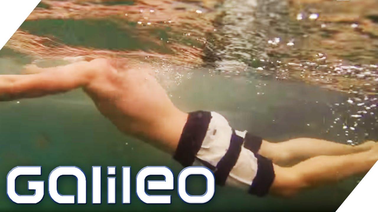 Swimming Pool mit Natur-Feeling | Galileo | ProSieben