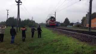 Первый электровоз на Жлобин(, 2013-09-19T14:10:29.000Z)
