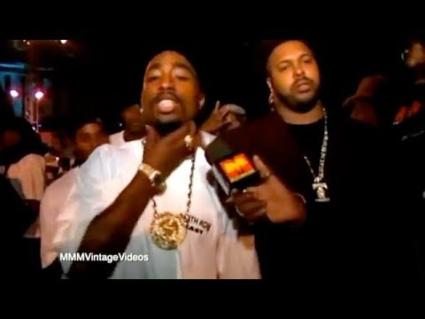 Tupac Disses Nas in Interview at After Party!