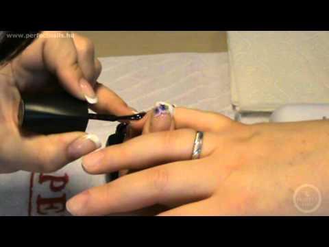 Lakk Zselé Használata - UV lámpával - Darabos Évi Step by Step