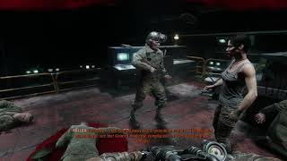 Metro Exodus - Yamantau The Ark: Follow Anna To Command Room, Miller Kills Commander (2019)
