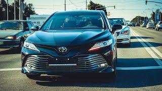 ВСЕ ПОНТЫ!  ЗАЕЗДЫ на ТОПОВОЙ TOYOTA CAMRY 2018 против SKODA SUPERB. Toyota Camry review