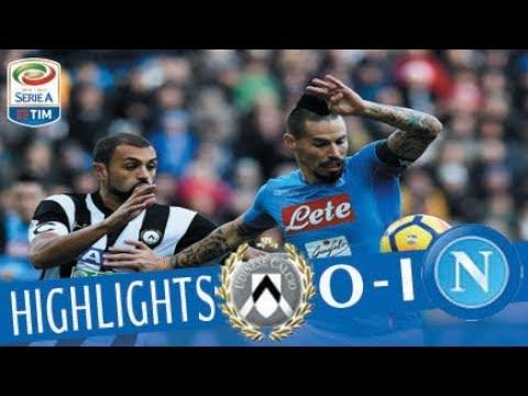 Udinese - Napoli 0 - 1 - Highlights - Giornata 14 - Serie A TIM 2017/18