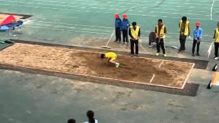 男子丙組 跳遠   唐尚正第二跳