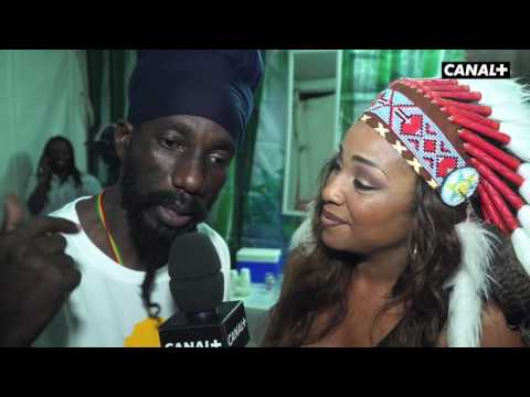 TERRE DE BLUES 2017 : interview de Sizzla
