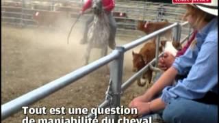 Les cowboys à la fête de la terre de Sèvres Anxaumont