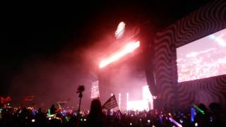 End Show With Calvin Harris /1080p - 10 min/ @ Sziget Festival 2014,Budapest,17.08.2014
