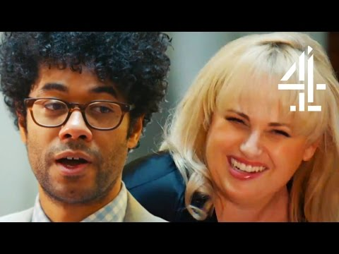 Rebel Wilson Causes Richard Ayoade To Think On His Life's Achievements | Travel Man: 48 Hours In...