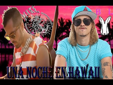 bonny lovy ft mike bahia una noche en hawaii adelanto