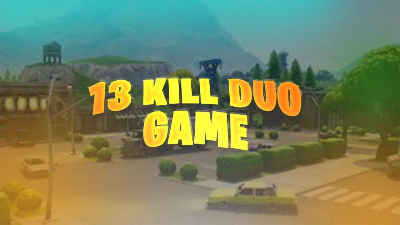 13 KILL DUO GAME w/ Stormsy