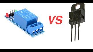 батл Реле vs Транзистор (Где реле не справиться?)
