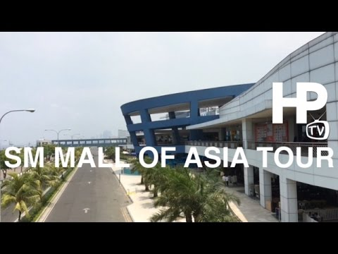 SM Mall of Asia Walking Tour Overview Pasay City Manila Philippines by HourPhilippines.com