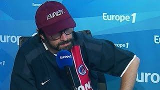 Finale de la Ligue Europa : la provocation de Julien Cazarre !