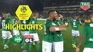 AS Saint-Etienne - Olympique Lyonnais ( 1-0 ) - Highlights - (ASSE - OL) / 2019-20