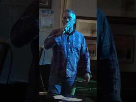 Karaoke Bob in the balarney stone renshaw street Liverpool
