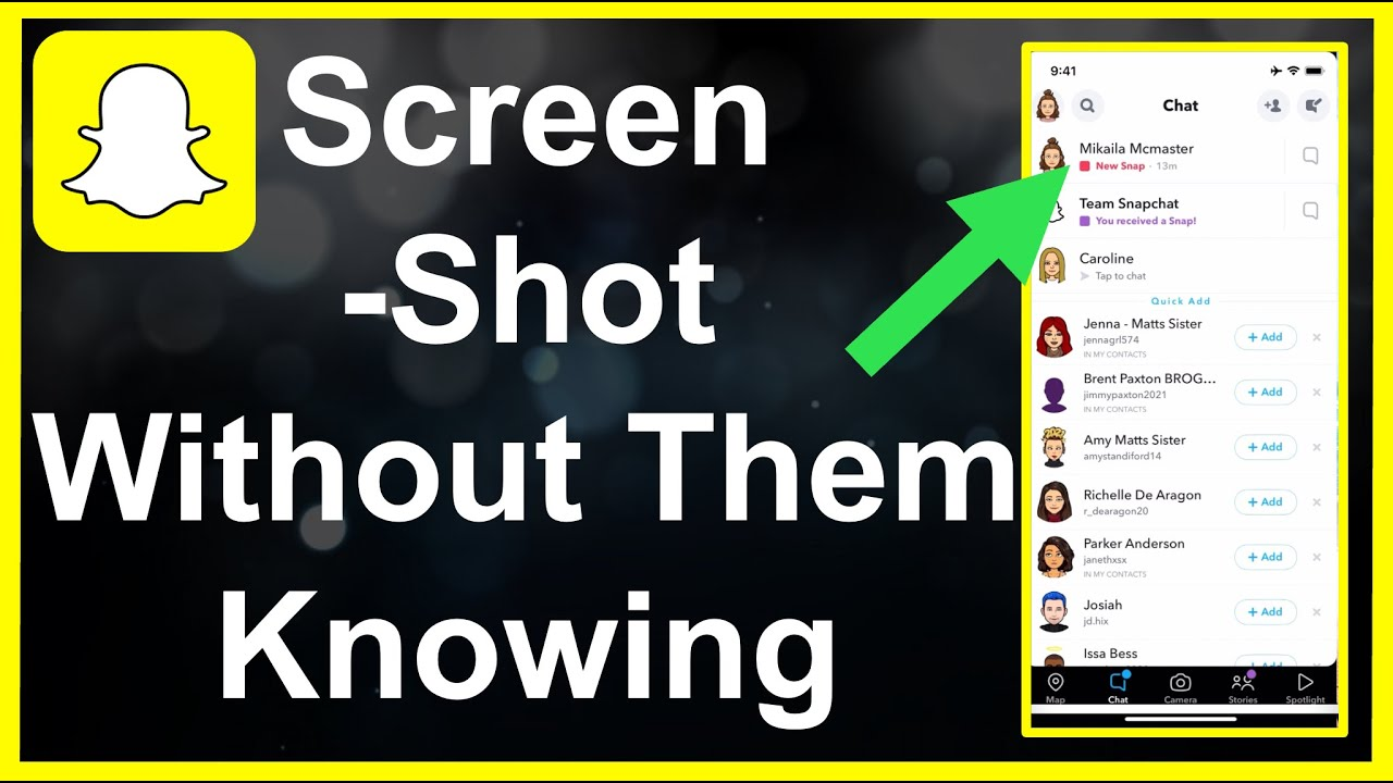 How To Screenshot Snapchat WITHOUT Them Knowing (6) - YouTube