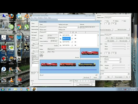 How to create activity in MSTS Tutorial || Commentary || MSTS Open Rails
