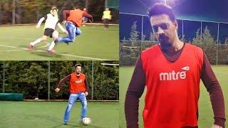 Αρχηγός - Παίζει ποδόσφαιρο με Hayate Army 5x5 #Hayate