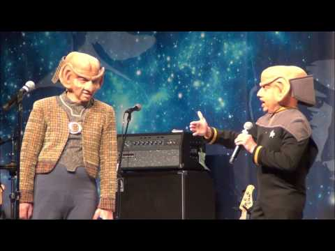 Rom and Nog – Deep Space Nine Star Trek 50th  Las Vegas 2016