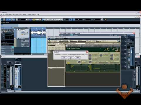how to add vst effect to track in cubase 9