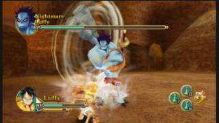 One Piece Unlimited Cruise Optional Boss 4 - Nightmare Luffy