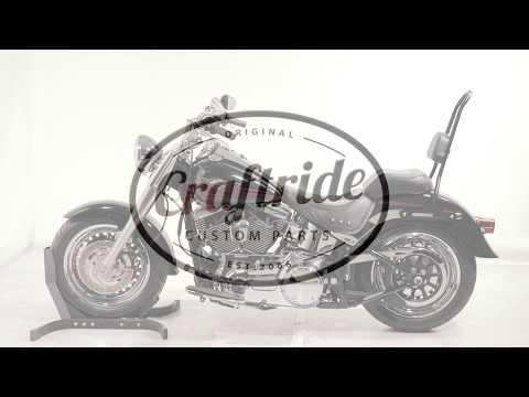 Satteltasche Craftride Amarillo 36L für Chopper Cruiser und Custombikes