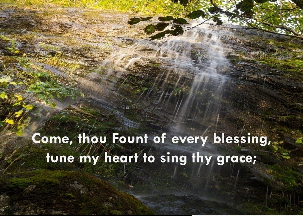 Come Thou Fount of Every Blessing - with lyrics - YouTube