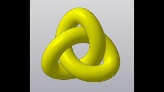 Видеоуроки Компас 3D V17 Символ бесконечности