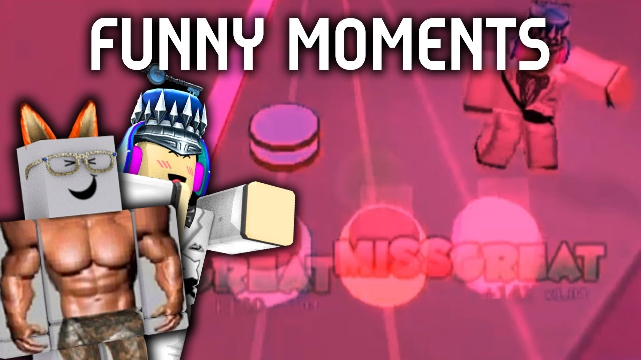 Roblox RoBeats Funny moments # 1