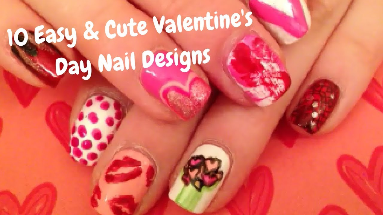 10 valentines amazing nail designs forecast dress for autumn in 2019