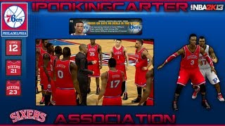 NBA 2K13 Association: Philadelphia 76ers - Ep. 10 | Bynum VS. Noel & Do The Sixers Watch My Videos?
