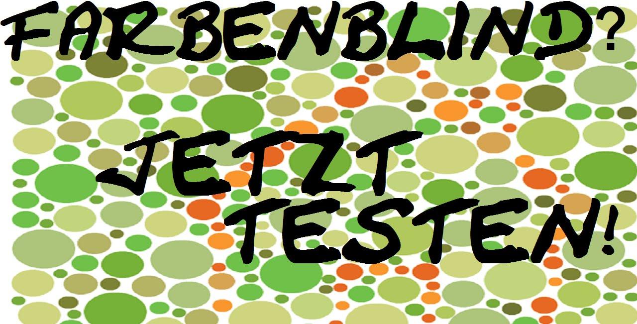 TOP 7 - SEHTEST - Bist du farbenblind? | TOP 7 TIME | HD
