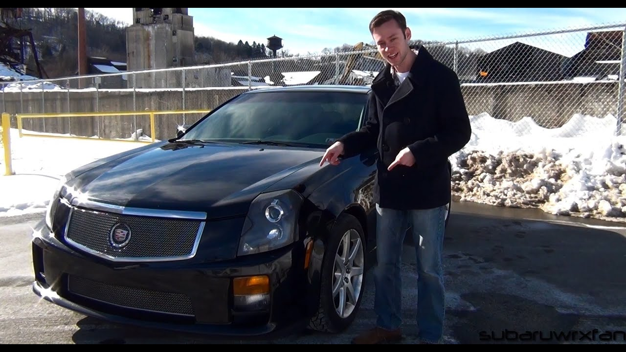 Review: 2004 Cadillac CTS-V - YouTube