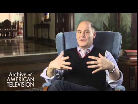 "Matthew Weiner discusses his positive experience doing ""Mad Men"" - EMMYTVLEGENDS.ORG"