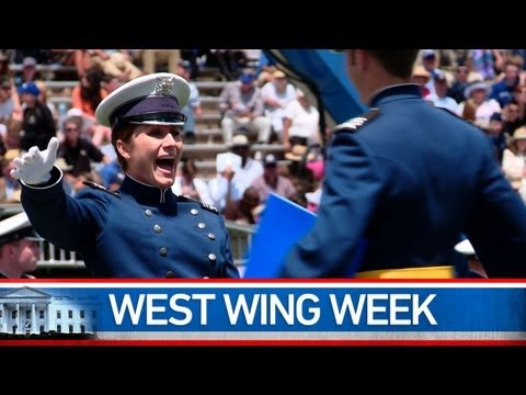 "West Wing Week: 5/25/12 or ""We Are Not Meant to Walk This Road Alone."""