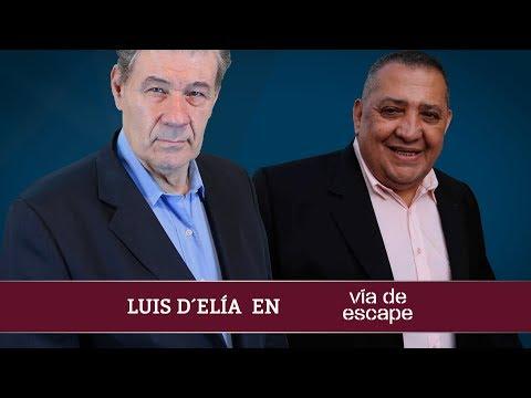Luis D'Elía en Vía de Escape con Víctor Hugo Morales