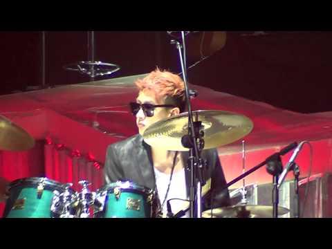 [HD Fancam] 130414 SJ-M Fan Party in Beijing - SJM BAND (Eunhyuk Focus)