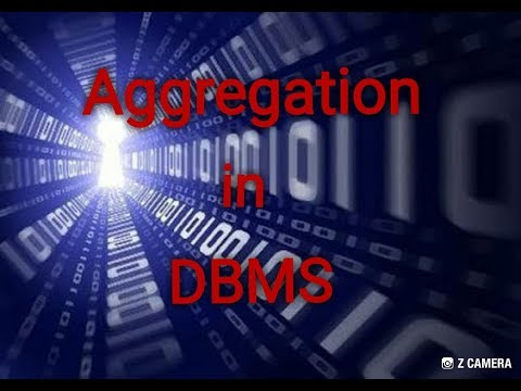 Aggregation in DBMS / extended ER feature