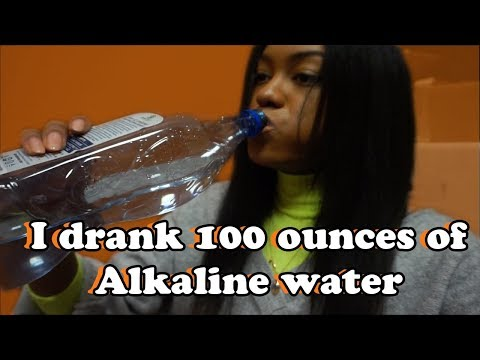 I DRANK 100 Ounces Of ALKALINE WATER FOR A WEEK & This Is What Happened