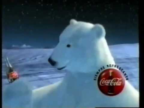 Comercial De Coca Cola 1995 Oso Polar YouTube