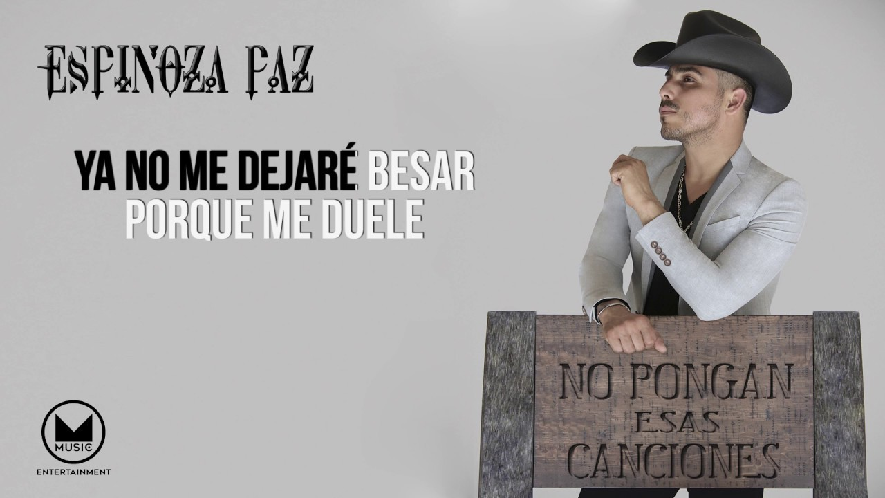 Espinoza Paz - Por Qué Creí En Ti? (Video Lyrics)