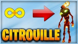 CARCASSE CITROUILLE ILLIMITÉ - FORTNITE SAUVER THE WORLD