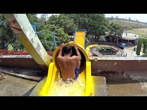 Cyclone Water Slide at Anandi Water Park