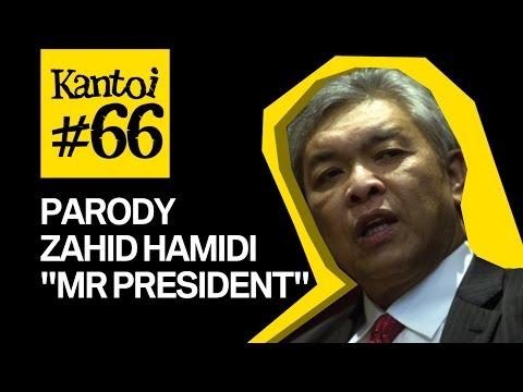 "Parody Zahid Hamidi ""Mr. President"" - United Nation, Malaysia, America"